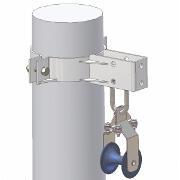 Clema de derulare si sustinere pentru cablu torsadat 20 kV