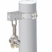 Clema de derulare si sustinere pentru cablu trifazat universal 20 kV