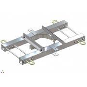 Coronament de intindere simplu circuit compact
