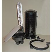 Encloser cilindric etans exterior 24 suduri