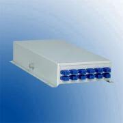 Terminal box metalic desk top pentru 12 suduri optice 12 adapentruori SC-PC