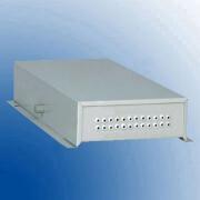Terminal box metalic  24 suduri optice - 24 orificii pentru pigtailuri 3mm