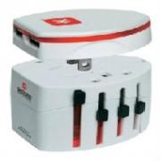 Adaptor SKROSS pentru aparate cu 2 si 3 poli, port USB