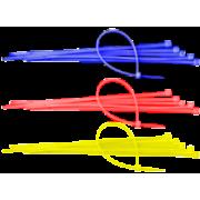 Colier de plastic colorat rezistent