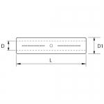 Conector electric compresie aluminiu