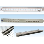 Patch panel blank din cupru