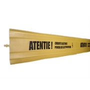 Banda din placi de avertizare circuite electrice subterane