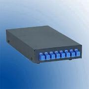 Terminal box, metalic desk top pentru 8 suduri optice 8 adapentruori SC-PC
