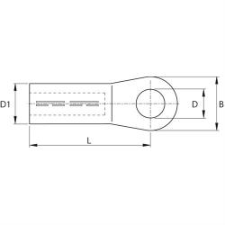 Papuci tip compresie pentru cabluri electrice aluminiu-cupru