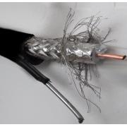 Cablu coaxial RG11 cu sufa