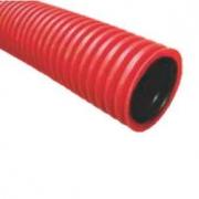 Tuburi din PEHD dublu strat, gofrat de protectie cabluri electrice